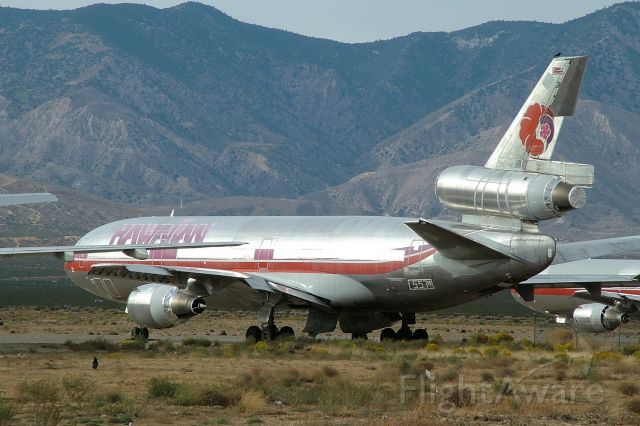 McDonnell Douglas DC-10 (N125AA) - Mojave Air & Space Port, October 2005