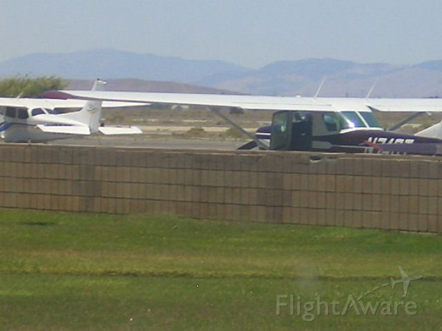 Cessna 152 (N74GT) - The 152 is Parked.