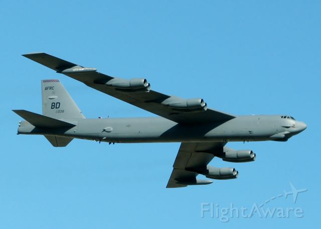 Boeing B-52 Stratofortress (60-0038) - Off of Rwy 15 at Barksdale Air Force Base.