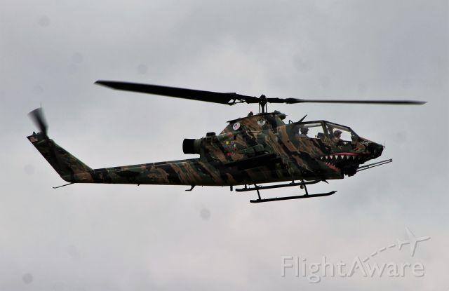 — — - Bell AH-1 Cobra. Nice tiger stripe scheme!!!