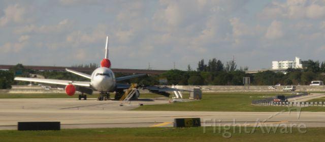 McDonnell Douglas DC-10 (N370FE) - Fedex plane in Fort lauderdale after 10-28-16 fire