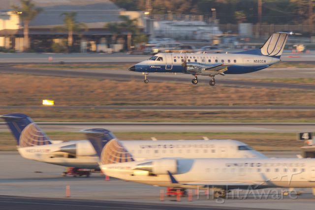 Embraer EMB-120 Brasilia (N583SW) - 28th of Nov., 2014