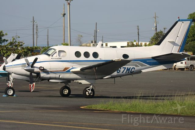Beechcraft King Air 90 (N767MC)