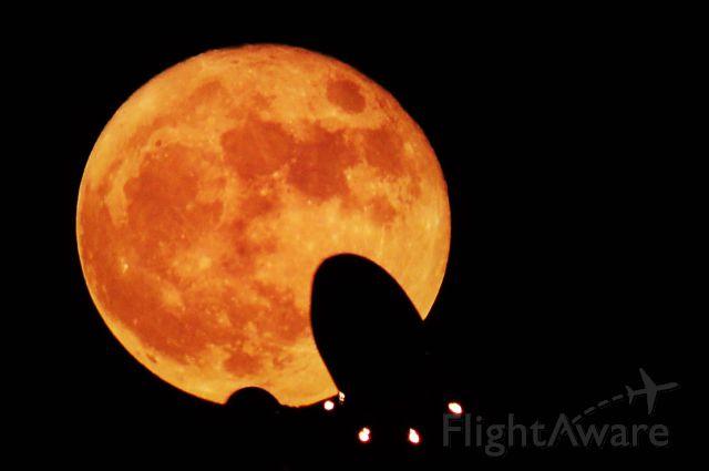 — — - Super moon Vegas departures