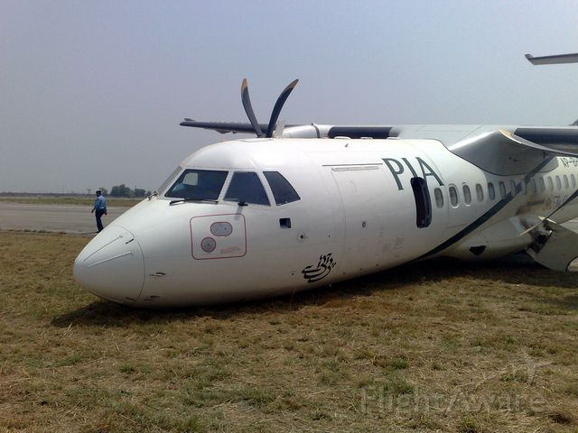 Aerospatiale ATR-42-300 (AP-BHO) - My friend Imran Warris shot this photo