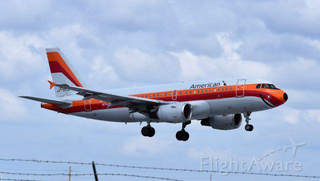 Airbus A319 (N742PS) - RETRO PSA