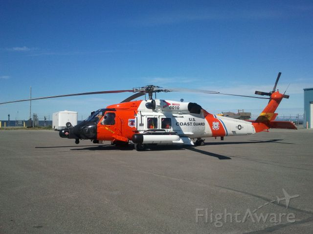 Cessna Skyhawk (N6010) - Sikorsky HH-60J Jayhawk on the West Ramp in Kotzebue Alaska on 07.06.2012