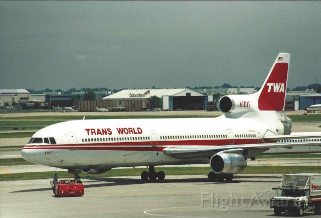 Lockheed L-1011 TriStar (N11002) - TWA