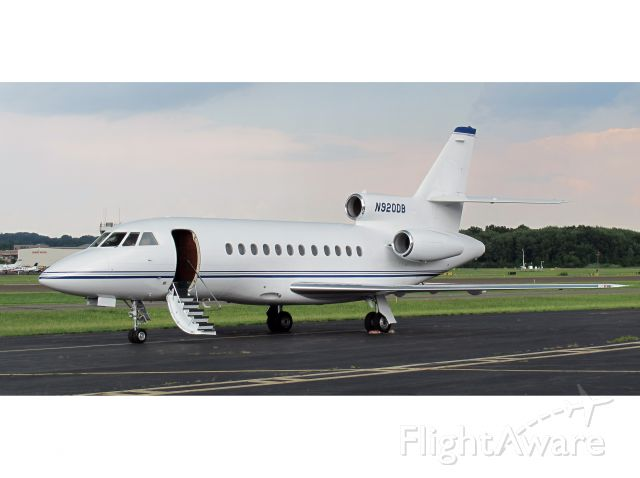 Dassault Falcon 900 (N920DB) - A very nice aircraft. Great short field performance and range.