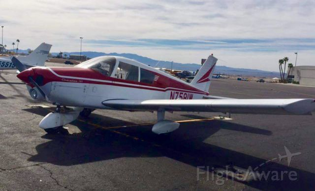Piper Cherokee (N7581W)