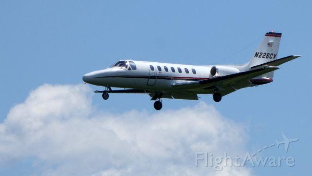 Cessna Citation V (N226CV) - On final is this 1993 Cessna Citation V in the Summer of 2019.