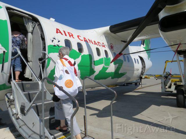 de Havilland Dash 8-100 (C-FGRP) - Our ride to the Magdalen Islands