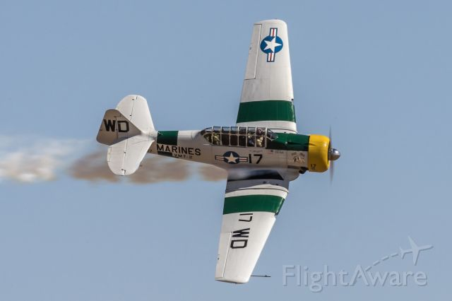 Grumman AA-5 Tiger (N1038A) - War Dog Apple Valley airshow.