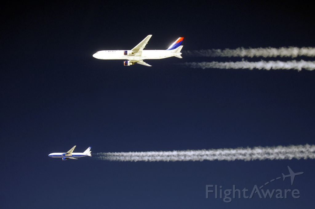N175DN — - Three of us in formation south of Greenland...