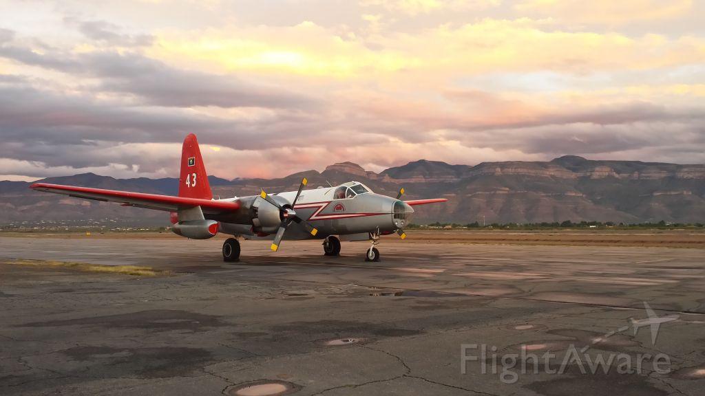 Lockheed P-2 Neptune (N443NA) - Lockheed P2V-7 Wildfire Air Tanker