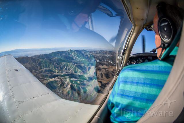 Piper Cherokee Arrow (N3588M) - Heading south to St George Utah