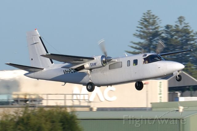 Rockwell Turbo Commander 690 (VH-PCV) - Adelaide, South Australia, September 10, 2020.  <br /><br />One of the four morning regional departures takes off from Rw 05 at 0734 bound for Alice Springs.