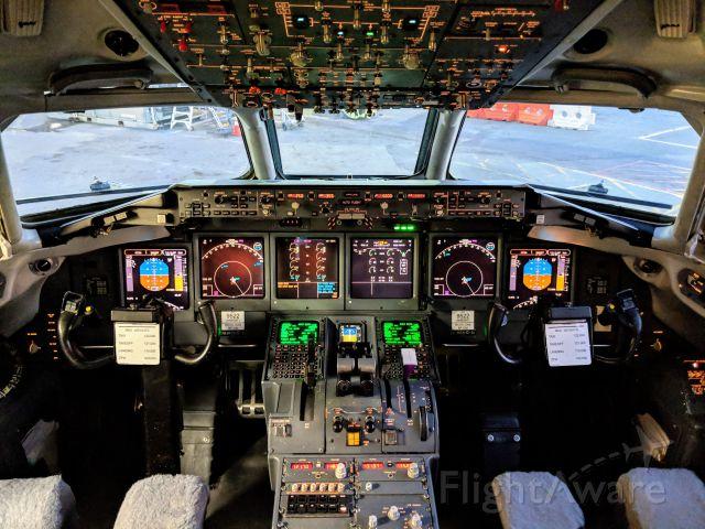 Boeing 717-200 (N963AT) - My office