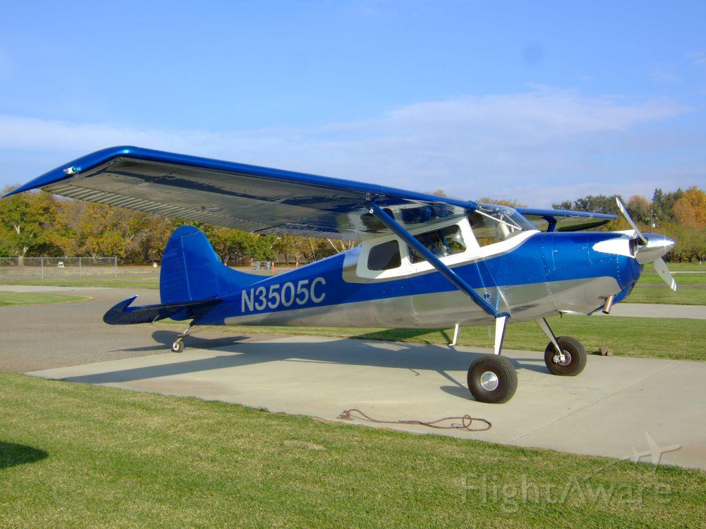 Cessna 170 (N3505C) - Cessna 170