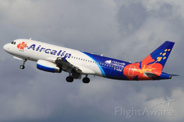 Airbus A320 (F-OZNC)