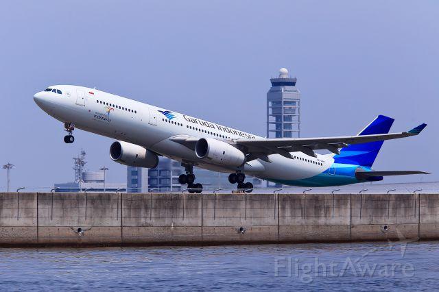 Airbus A330-300 (PK-GPW) - Airbus A330-343X/Garuda Indonesia/KIX