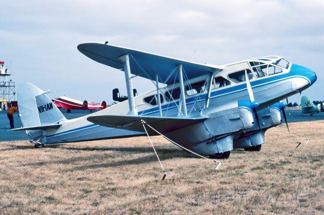 VH-IAN — - DE HAVILLAND DH-89A DOMINIE - REG : VH-IAN (CN 6655) - BALLARAT VIC. AUSTRALIA - YBLT 16/2/1986
