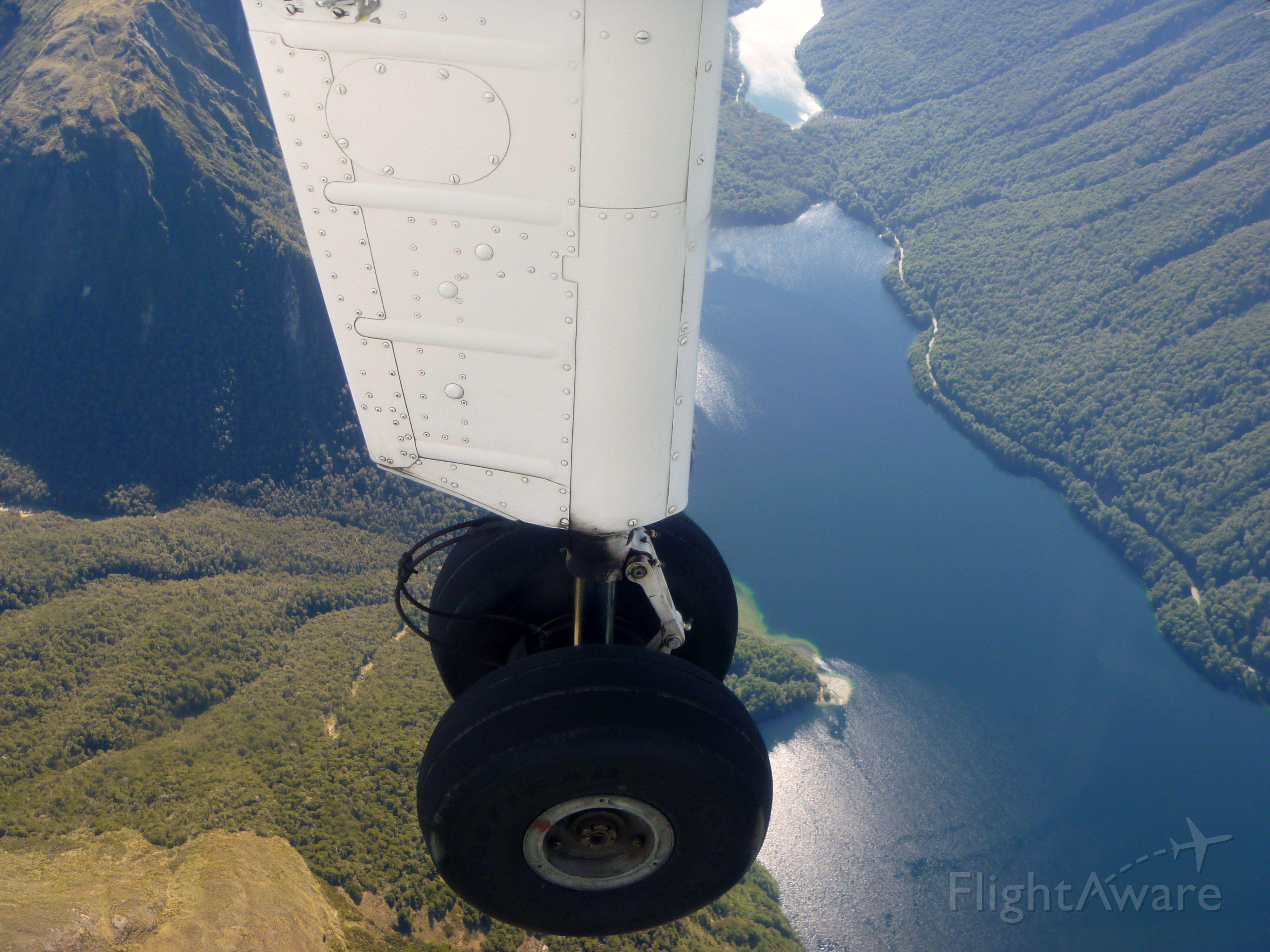 ROMAERO Islander — - Airline: Milford Sound Scenic Flights (unknown/unknown); Camera: Panasonic Lumix DMC-FP1; Date: 2 April 2012