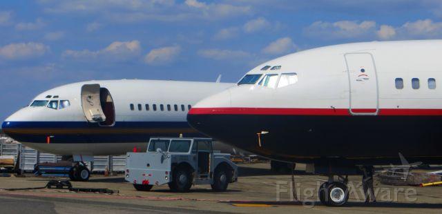 BOEING 727-200 (N727NK) - Roush Fenway Racing 727-200 (N727NK & N422BN)