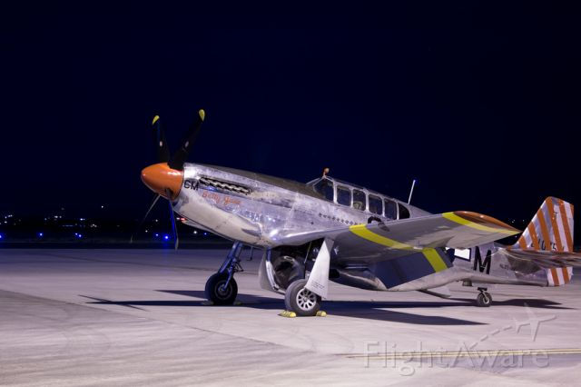NL251MX — - North American TP-51C-10 Mustang NL251MX Betty Jane on the ramp at KFNL on July 16, 2016br /br /photo by n810 visual art & design (me)