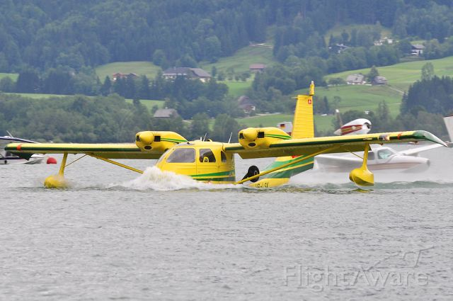 UNITED CONSULTANT UC-1 Twin Bee (HB-LSK) - Wolfgangsee