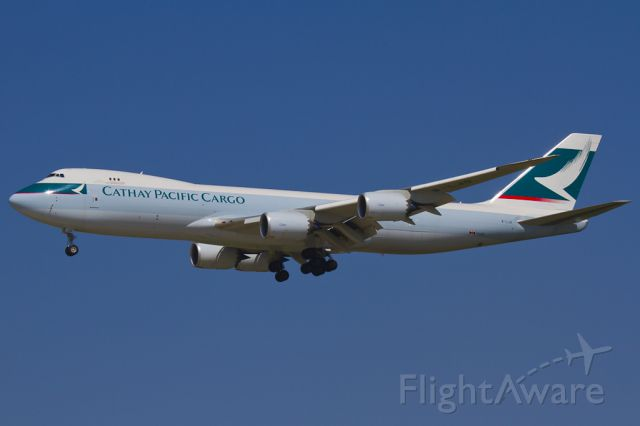 BOEING 747-8 (B-LJG) - May 17, 2012.