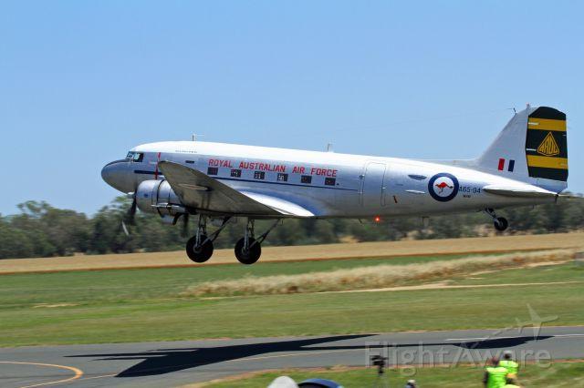 Douglas DC-3 (A6594) - Temora air show 2015