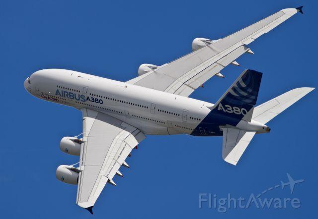 Airbus A380-800 (F-WWDD) - The massive A380-800 flight display at the 2016 Farnborough Airshow.  Canon 1DXmk2 560mm