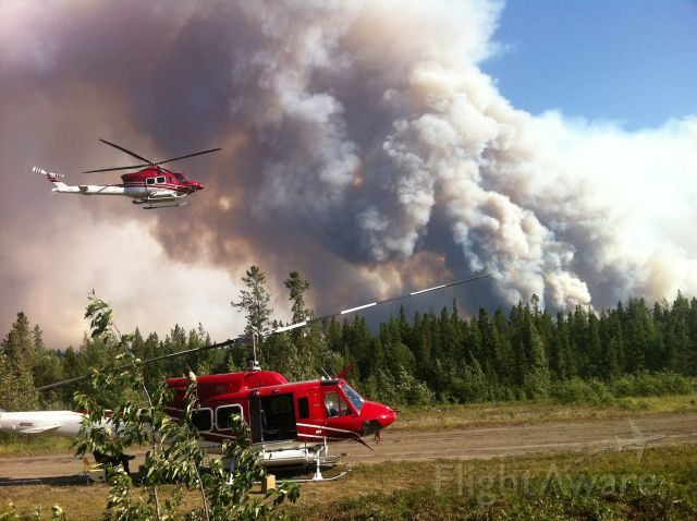 Bell 412 (C-GBND) - SP Wildfire 007 working in BC