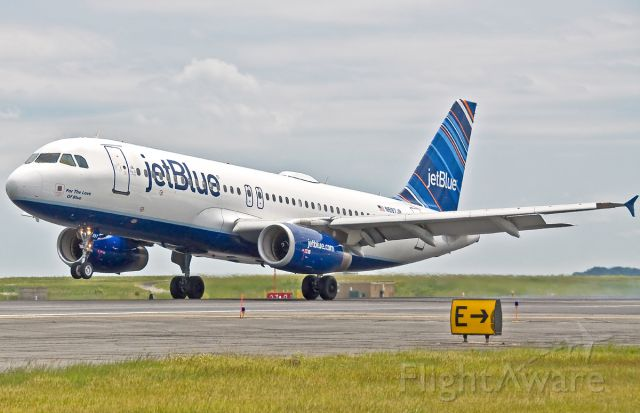 Airbus A320 (N597JB) - For The Love of Blue