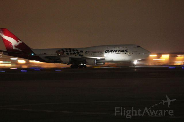 Boeing 747-400 — - Good-bye Los Angeles... Sydney bound!