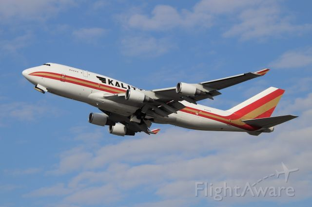 Boeing 747-400 (N744CK) - 27 departure to ANC