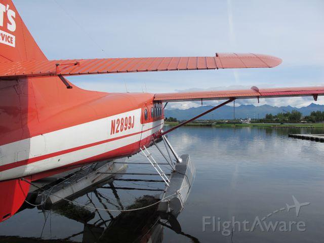 De Havilland Canada DHC-3 Otter (N2899J) - Resting at home base on Lake Hood, AK.