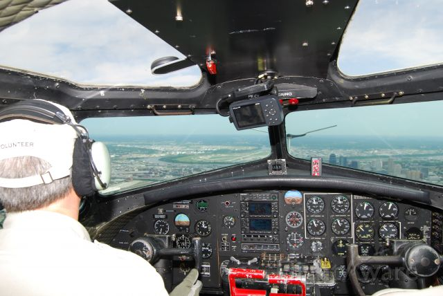 N5017N — - View out the cockpit of