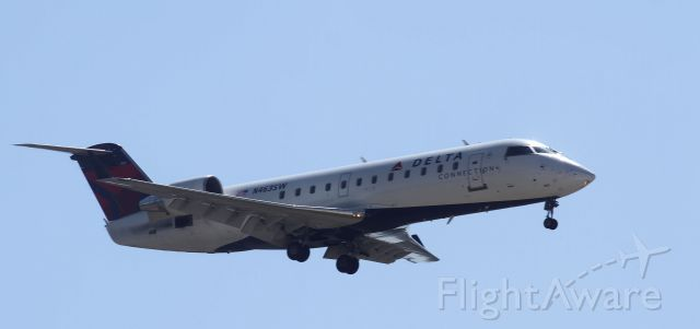 Canadair Regional Jet CRJ-200 (N463SW) - On aproach too Lincoln Ne 7-10-12