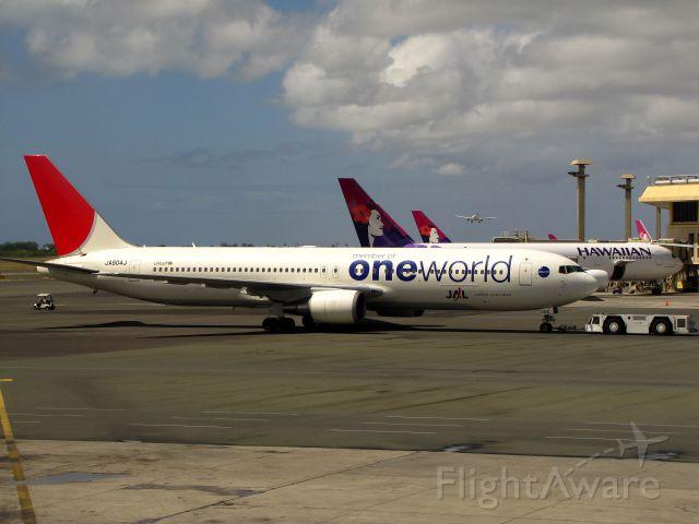 BOEING 767-300 (JA604J)