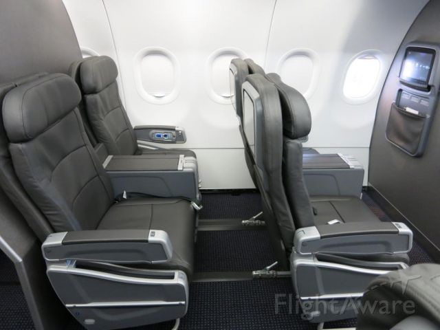 Airbus A319 (N8001N) - American Airlines Airbus A319 First Class
