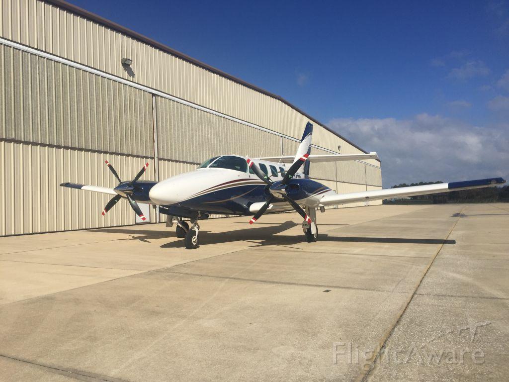 Cessna T303 Crusader (N494TS) - South Hangar area