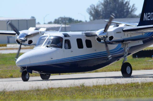 Aero Commander 500 (N207JG) - Imaged on 4/25/12
