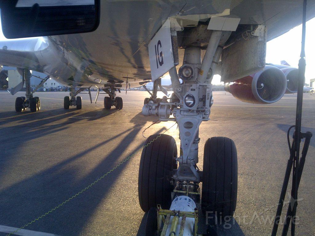 Boeing 747-400 (G-VBIG) - Pushback!