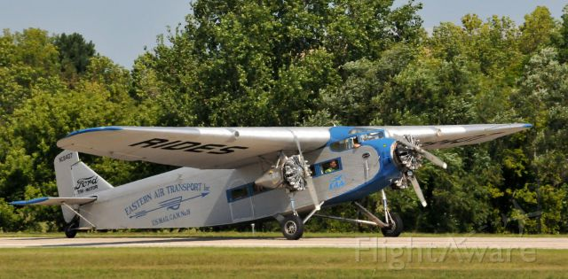 Ford Tri-Motor (NC8407) - Wings Over Waukesha, WI Airshow.