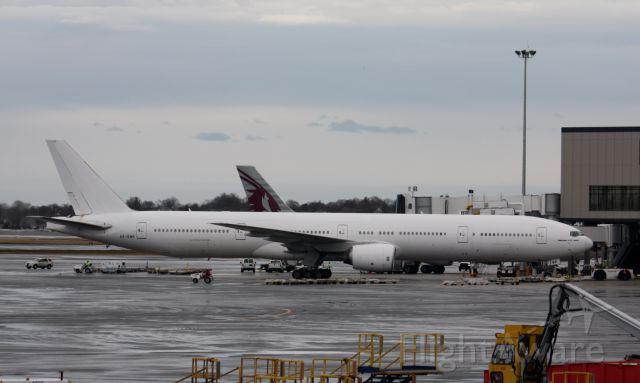 BOEING 777-300ER (A6-EMP) - Off to the desert to be retired.