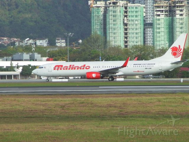 Boeing 737-700 (9M-LNK) - Airline : Malindo Air