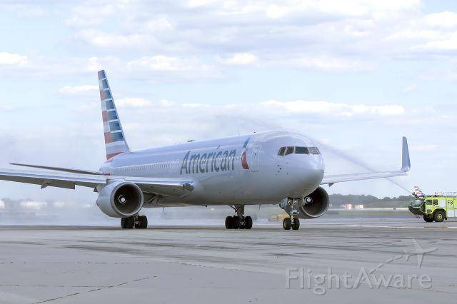 BOEING 767-300 (N388AA) - World Trade Center 9/11 Beam being flown to Florida. August 13, 2015