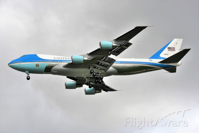 92-9000 — - AF1 from a couple of years ago arriving with President Trump onboard. No political comments please. Keep the focus on the aircraft. Thank You.